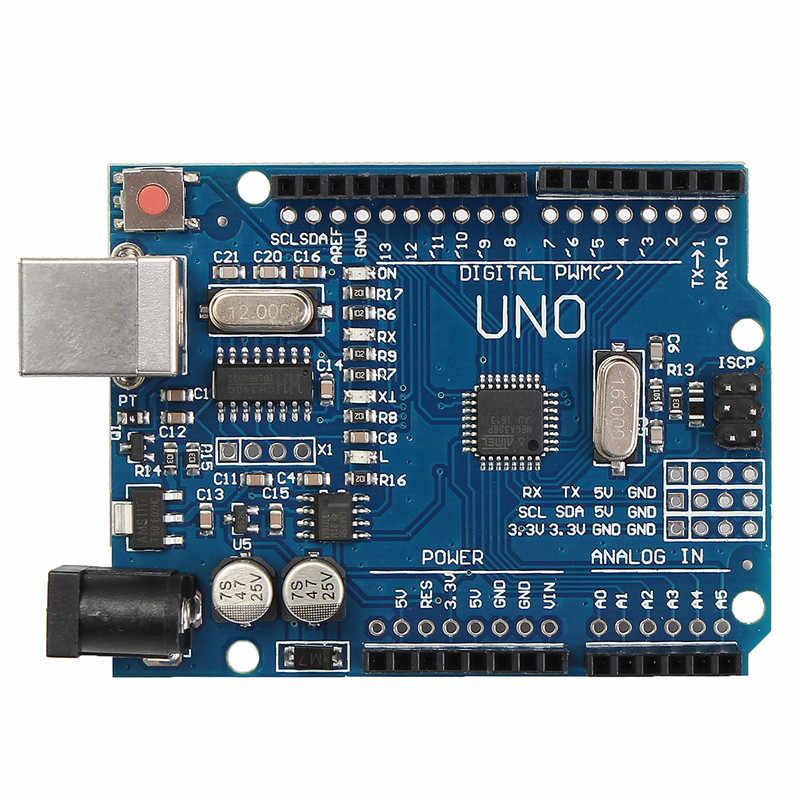 4 × A4988 ステッピングモータドライバヒートシンク + CNC シールド拡張ボード + R3 ボードキット-Arduino 彫刻 3D プリンタ