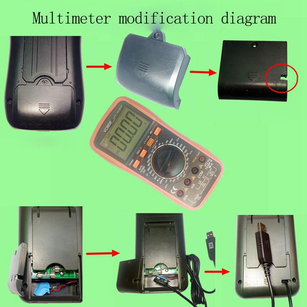 9V Battery Eliminator USB Cable 5V Boost to 9V Voltage Converter Step-up Volt