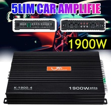 Multimedia-Player Amplifiers Audio Stereo 4-Channels FM 12V 1900W