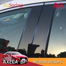 Для автомобилей Mazda 3 Axela 2019 2020 BP, наклейки на окна автомобиля, 6 шт./компл.