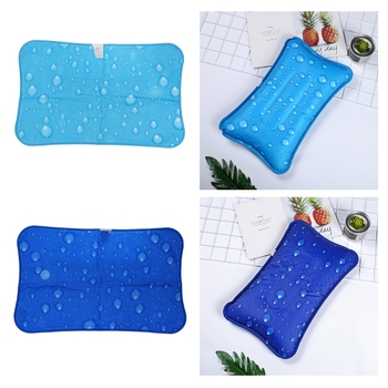 Air Water Filled Pillow Chair Pad Water Seat Cushion for Office Car Travel image