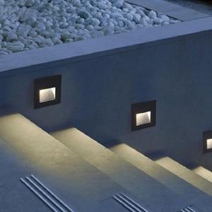 LED Deck Step Light 15Leds IP65 Waterproof Underground Lamp Recessed Stair Paitio ground Floor Garden Landscape Wall Outdoor