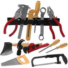 Kids Toys Drill-Tools-Set Screwdriver Hammer-Tongs Maintenance-Tools Pretend-Toy Safe