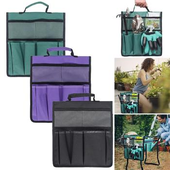 Krzesełko ogrodnicze torba na narzędzia krzesełko ogrodnicze siedzenia torba na narzędzia praca na zewnątrz przenośny wózek organizator pokrowiec zestaw narzędzi narzędzie ogrodnicze tanie i dobre opinie Części do narzędzi ogrodowych CN (pochodzenie) garden tool storage bag Z tworzywa sztucznego do majsterkowania w domu