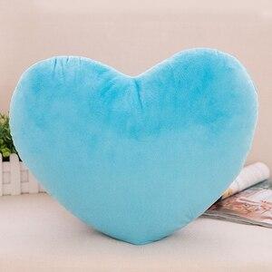 20 см в форме сердца декоративная подушка PP хлопок Мягкая креативная кукла Любовник подарок H37A