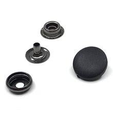 50 комплектов snaps15mm17mm черная и белая нейлоновая ткань