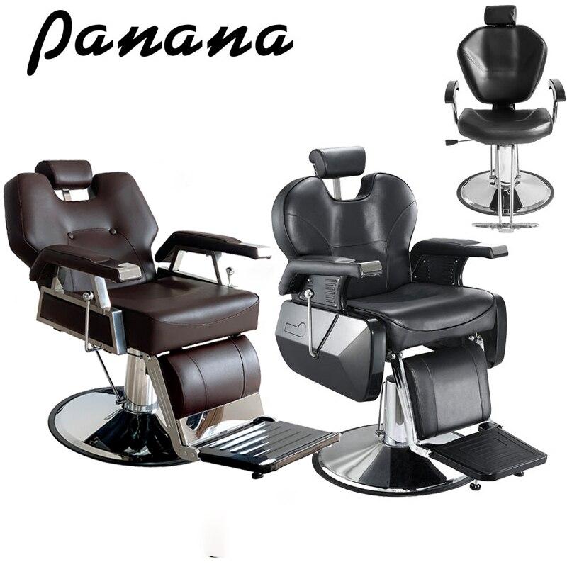 Panana alta qualidade barbearia salão de beleza barbeiro cadeira tatuagem estilo threading barbear barbeiros navio em normalmente