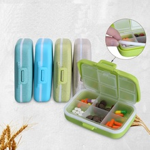 Pill Box Case Pills Organizer Portable 6 Grids Travel Medical Tablet Storage Container Medicine Pastillero