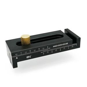 Image 5 - Aluminum Alloy Depth Measuring Ruler  w/ Scale Woodworking Line Ruler Sawtooth Ruler Marking Gap Gauge Measuring Tool