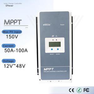 Контроллер зарядного устройства EPever Tracer5415AN, 50 А, 60 А, 80 А, 150 А, MPPT 12 В, 24 В, 36 В, 48 В, автоматический регулятор входной мощности солнечной панели ...
