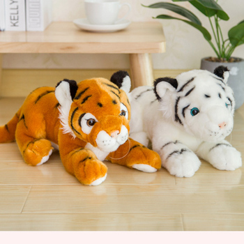 Soft Stuffed Animals Tiger Plush Toys Pillow Animal Cartoon Tiger Peluche Kawaii Doll Cotton Baby Brinquedo Toys For Children 60cm colorful giant elephant stuffed animal toy animal shape pillow baby doll home decor peluche plush toys for children gifts