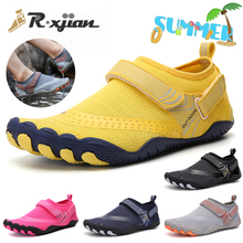 Fashion Popular General Swimming Shoes Men's Professional Competition Training Shoes Women's Beach Five Finger Surfing Shoes