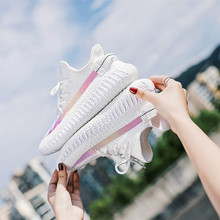 Dropshipping Women Shoes Summer White Sneakers Basket Femme