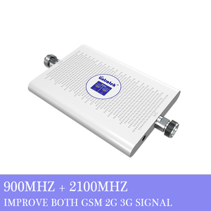 Image 3 - Lintratek NEW 2G 3G Signal Booster 900 2100Mhz GSM WCDMA Dual Band Repeater 900 2100 GSM 3G Booster Ampli AGC 70dB High Gain #8