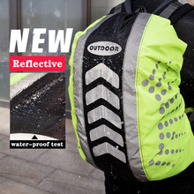 Backpack Reflective-Backpack-Cover Rain-Cover Dustproof Outdoor-Riding New 20-55L