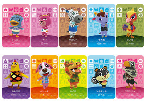 Image 3 - New Amiibo Card NS Game Series 2 (121 to 160) Animal Crossing Card Work for