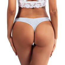 3pcs/lot Panties for Women Sexy Thong Underwear T-Back Briefs Seamless Lingerie Female Fashion Cotton Tanga G-string Breathable