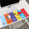 Cute Kawaii Customized Laptop Gaming Mouse Pad Large Gamer Keyboard PC Desk Mat Computer Carpet Rubber Non-slip Tablet Mouse Pad