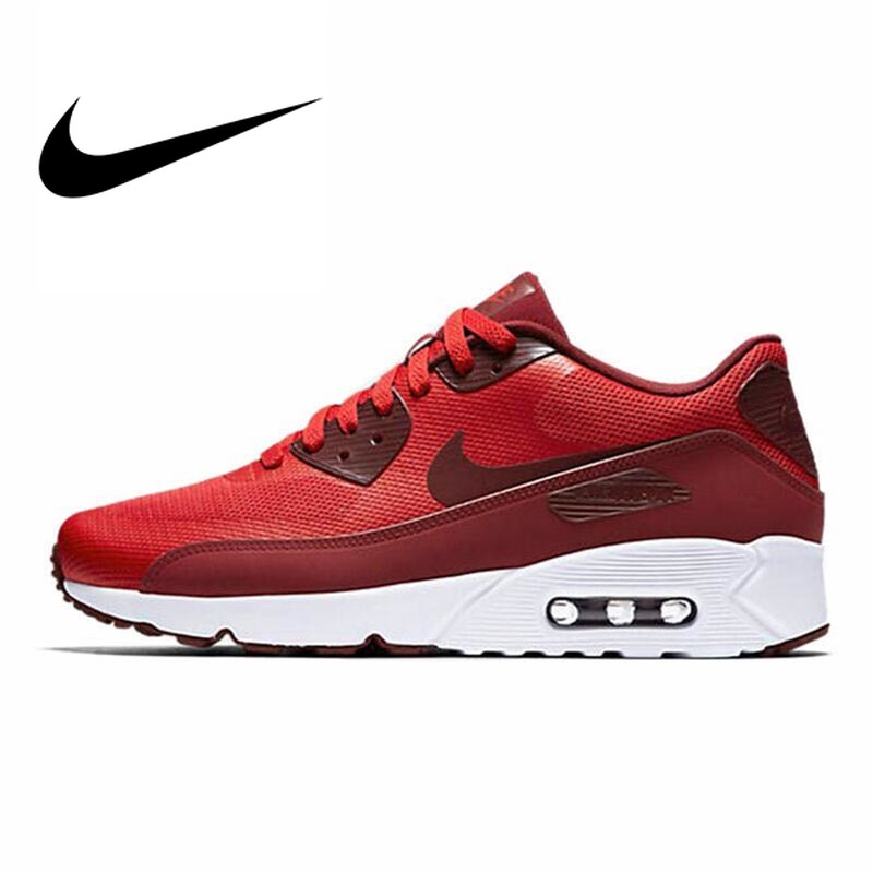 Original Authentic NIKE AIR MAX 90 ULTRA 2,0 Men's Running Shoes Mesh Breathable Sport Outdoor Sneakers Jogging Footwear 875695