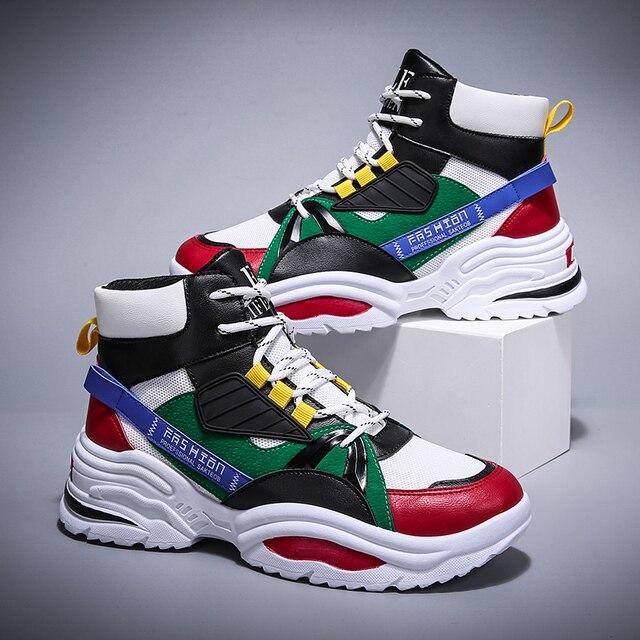 BIGFIRSE Scarpe Da Tennis per Gli Uomini Lace up Traspirante scarpe da Uomo Scarpe di Cotone Per Il Tempo Libero Allaperto Scarpe 2020 Zapatos Hombre Casual Scarpe Da Ginnastica Per uomini