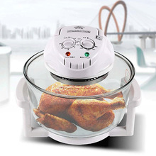 1pc 1300W Halogen Oven 12L Turbo 220V Conventional Infrared Super Wave Electric Fryer