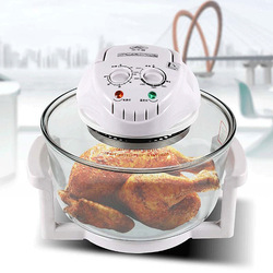 1pc 1300W Halogen Oven 12L Turbo Oven 220V Conventional Infrared Super Wave Oven Electric Fryer