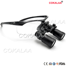 Dental Loupes  High power magnifier Ultra-Light cokalaa medical loupes 4X Medical magnifying glass Surgical loupes 2018 hot sell dental equipment 2 5x dental loupes dental surgical magnifying glass dental surgical loupes with asin
