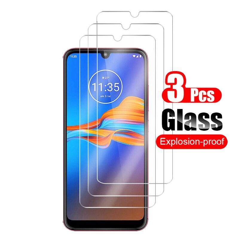 3Pcs Tempered Glass For Motorola Moto E6 E 6 Plus Screen Protector For Motorola Moto E6 Plus Protective Glass Shield Film 9H