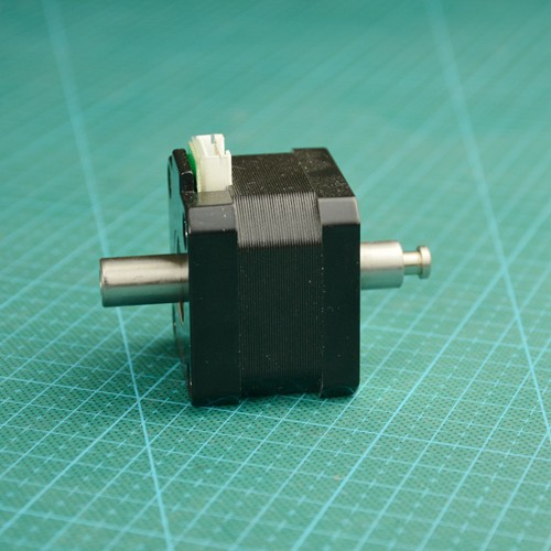 JUGETEK NEMA17 Hollow Shaft Stepper Motor Hybrid Dipole 34MM 1.5A