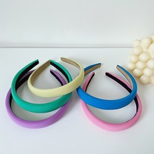 Summer Candy Color Women Headband Cute Sweet Anti-slip Hair Hoop Simple Wash Face Hairband Head Hoop Turban Hair Accessories New