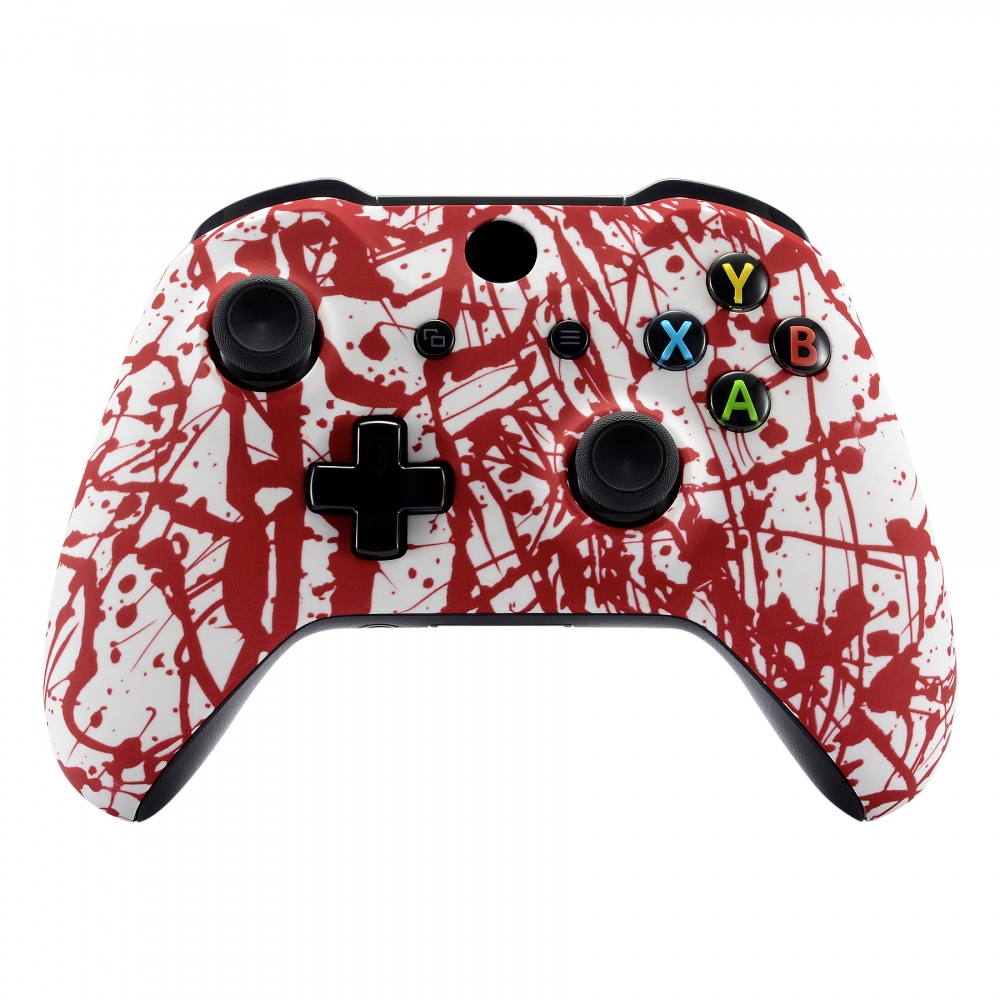 lowest price Custom Patterned Soft Touch Replace Parts Front Shell for Xbox One X  amp  One S Controller Model 1708