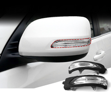 Side Rearview Mirror Turn Signal Light Fit for Land Cruiser Prado 2010-2019