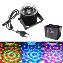 RGB LED Effect Stage Light Party Light Disco Club DJ Crystal Magic Ball Automatic Lighting Disco for KTV Bar Stage Club Party цена