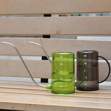 Long Bend Sprinkler Water Pot  Water Bottle Planting Tool Gardening Flower Watering Pot Transparent Plastic Resin цены