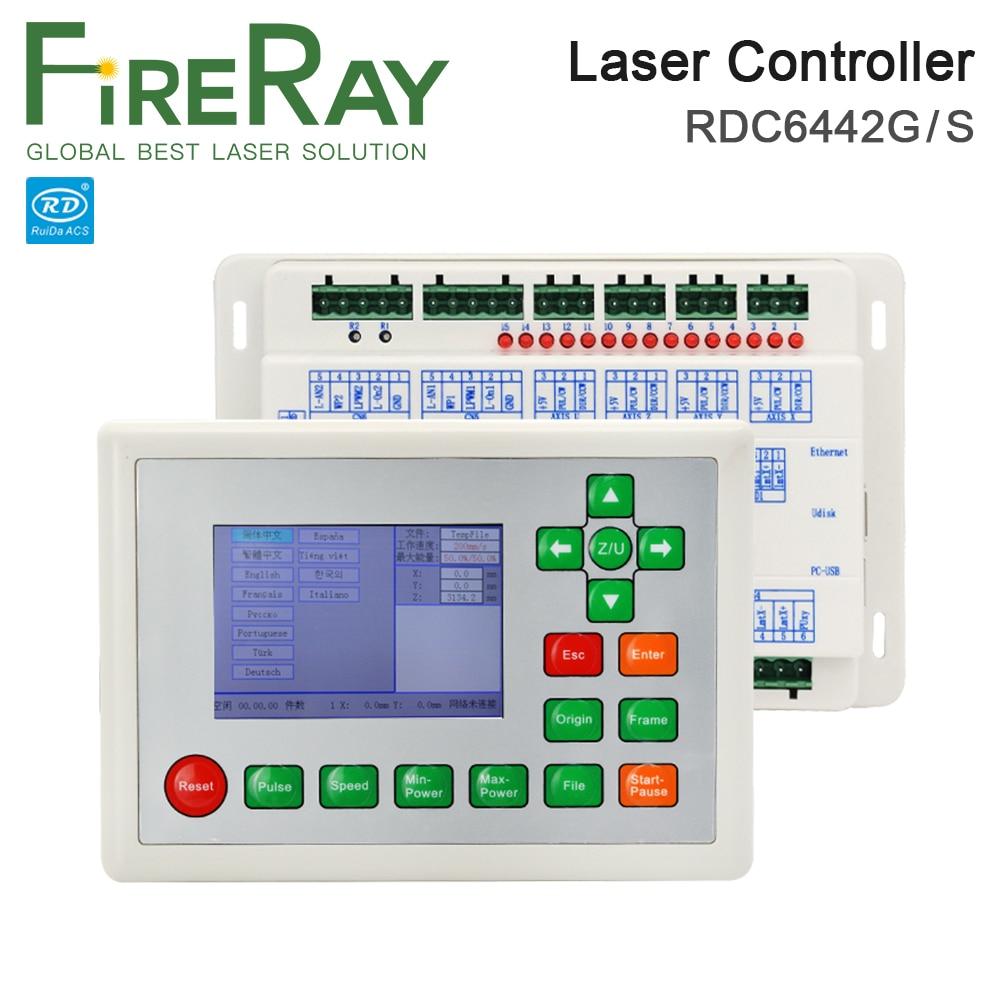 Ruida RDC6442 RDC6442G Laser Machine Controller For Co2 Laser Engraving Cutting Machine Upgrade RDC6442S RDC6442