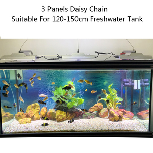 Image 5 - אקווריום led אור דגי טנק אור led מנורת עבור מים מתוקים טנק צמחי אקווריום חכם שקיעת זריחת dimmable