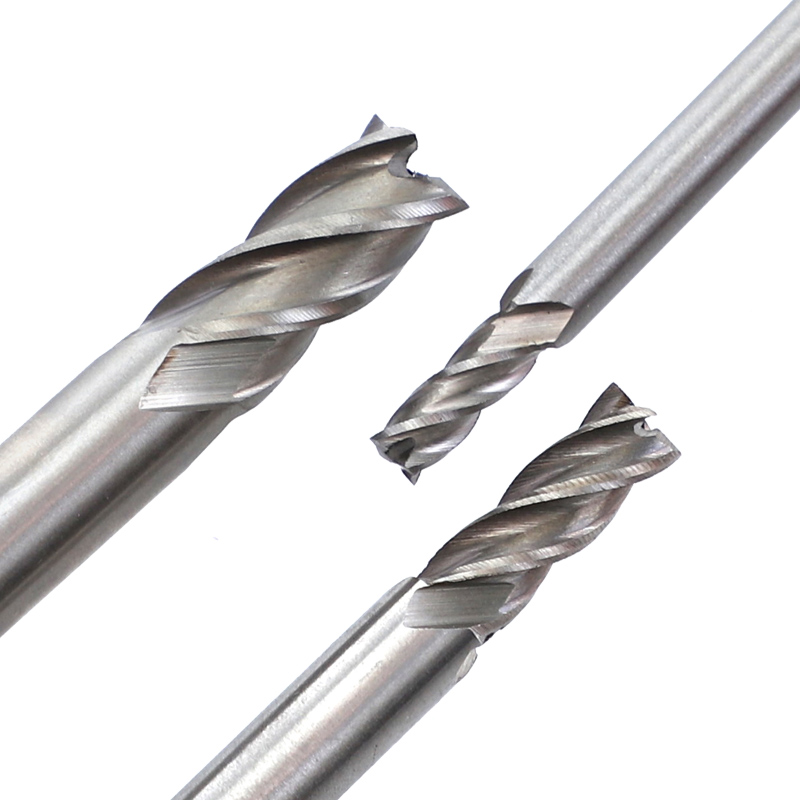 Fresa in metallo duro Utensili CNC Diametro HSS 2-10mm 10 pezzi / set - Macchine utensili e accessori - Fotografia 5