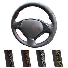 Funda de dirección personalizada para coche Infiniti G37 G35 EX35 EX25 EX37 Q60 QX50 Q40, accesorios IPLG, envoltura para volante de cuero Artificial