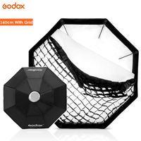 Godox 140cm 55 Octagon Honeycomb Grid Softbox for Photo Strobe Studio Flash Bowens Mount soft box