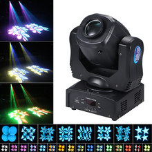 120W LED Moving heads disco Light 9/15CH Rotating Spotlight 16Colors DMX512 sound party lights Auto-run for DJ Disco Party stage(China)