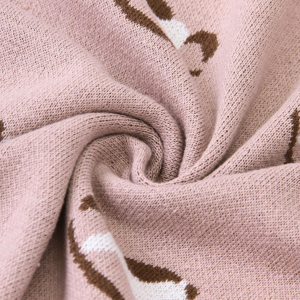 Baby Blankets Knitted Cotton Newborn Swaddle Bedding Blanket Covers Super Soft Infant Boys Girls Stroller 100*80cm Toddler Quilt