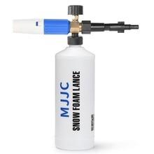 Mjjc lançador de espuma para neve, para skil 0760/preto & decke r/makita/ar azul/espumador two-time/bosche aqt series após o ano 2013 pres