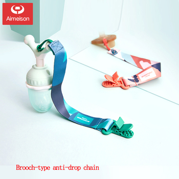 chain Aimeison  Pacifier chain baby nipple teether anti-chain chain baby pacifier clip chain baby toy rope