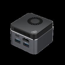 Мини-ПК M1T, Win10, Linux, Celeron J4125, 8 Гб ОЗУ, 128 ГБ/256 ГБ/512 ГБ/IT, USB3.0, BT4.2, двойной Wi-Fi, 2,4 ГБ + 5,8 ГБ, мини-компьютер