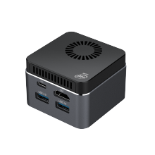 Mini PC M1T, avec windows 10, Linux, Celeron, N4100/N4120/J4125, 8 go de RAM, 128 go/256 go/512 go/IT ROM, usb 3.0, bluetooth 4.2, double WIFI, 2.4 go + 5.8 go