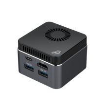 Мини-компьютер маленький размер M1T Win10 Linx Intel CeleronN4100 8 ГБ ОЗУ 128 ГБ/256 ГБ/512 ГБ/IT ПЗУ USB3.0 BT4.2 Dual WIFI 2,4G + 5,8G мини-компьютер