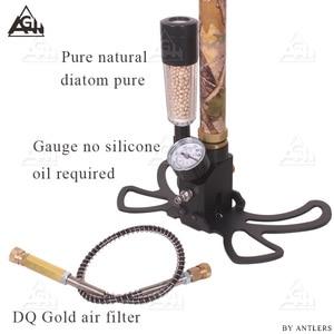Image 5 - 4500PSI PCP Pump Airgun air Rifle High Pressure Pcp Hand Pump with Air filter 40Mpa Gauge airsoft Paintball pump Stainless Steel
