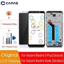 Ban Đầu Cho Xiaomi Redmi 5 Plus Màn Hình Hiển Thị LCD + KHUNG 10 Màn Hình Cảm Ứng Cho Redmi Note 5 Ấn Độ Bộ Số Hóa Màn Hình LCD bộ Phận Thay Thế