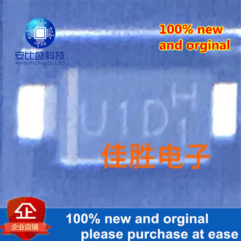 50pcs 100% New And Orginal US1002FL 1A200v DO219AB Silk-screen U1D Ultrafast Recovery Diode  In Stock