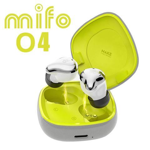 Verdadeiro sem Fio Fones de Ouvido com Bluetooth e Isolamento Ruído da Torneira Mifo Esportes Sweatproof Mini Controle o4 Tws 5.0 Mod. 1458347